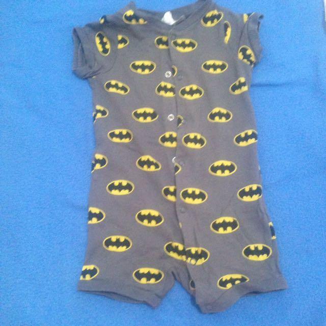 H&M Batman onesies 4-6 months