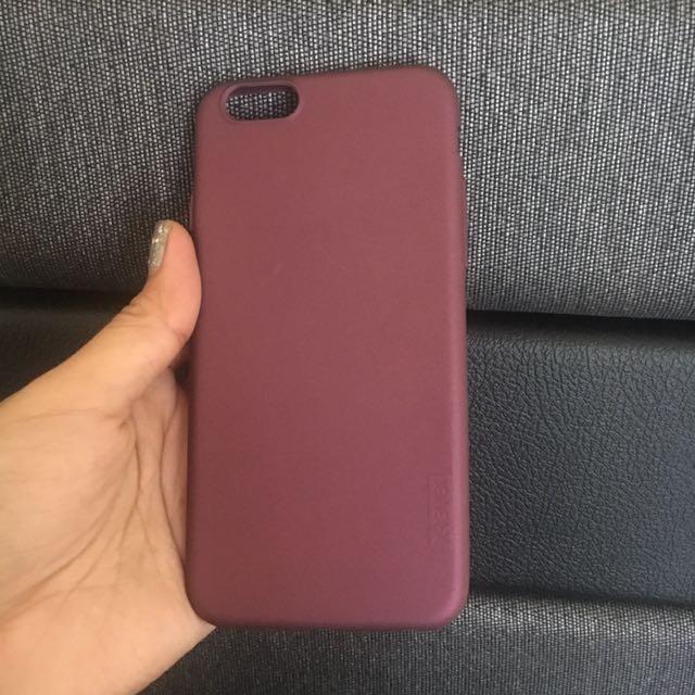 Iphone 6/6S case maroon