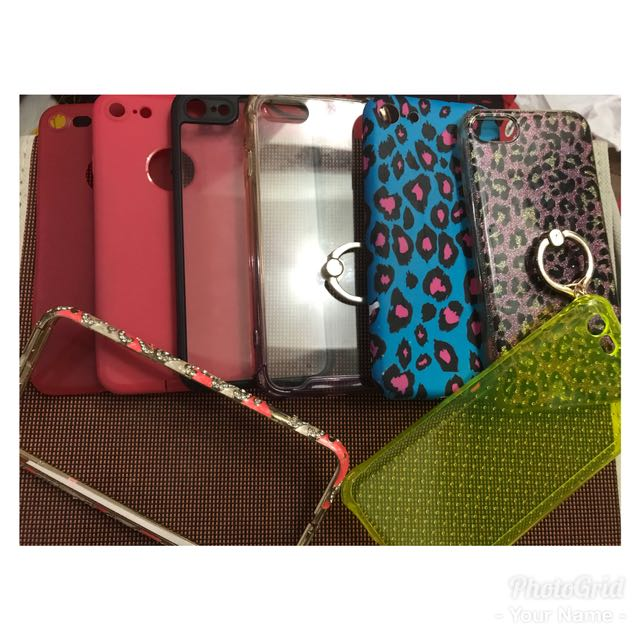 Iphone 7 cases Preloved 50 each