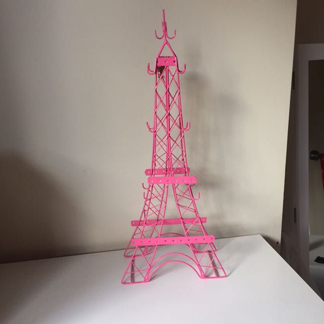 Jewellery stand pink