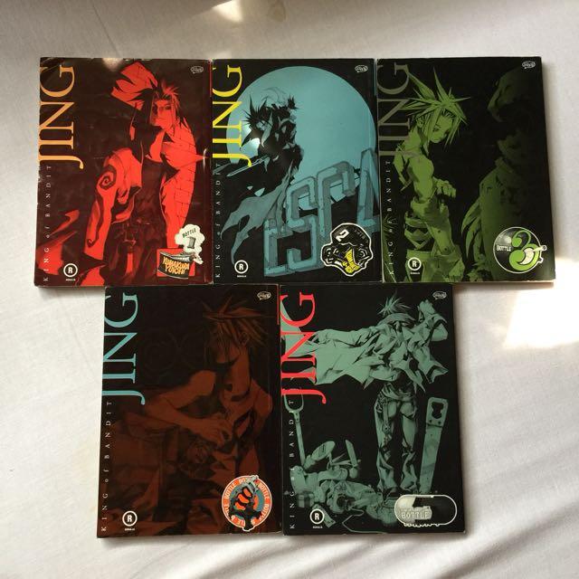 Jing King of Bandit by Kumakura Yuichi