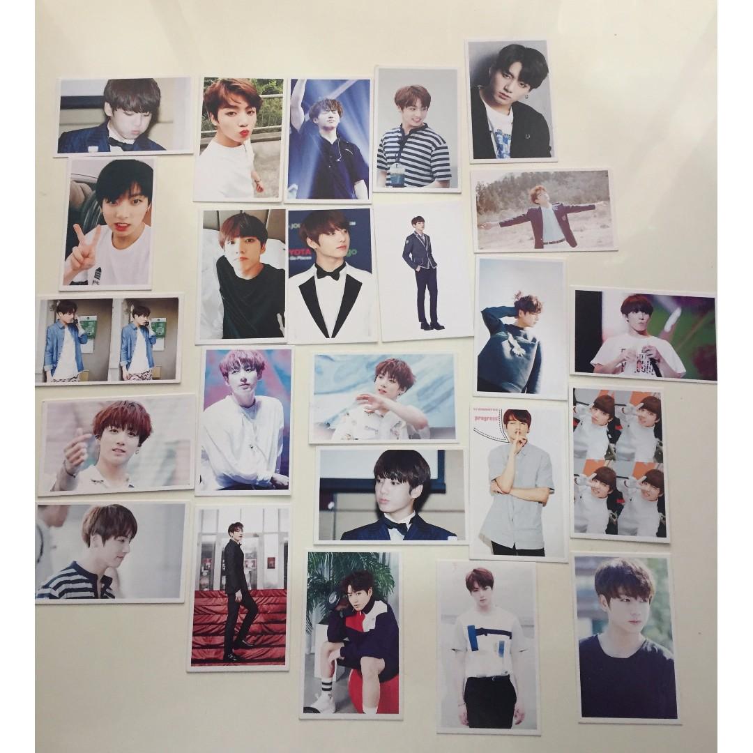 Jungkook BTS Lomo Cards set