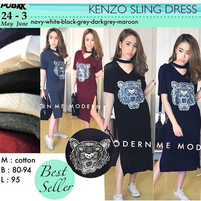 Kenzo sling dress