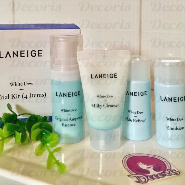 Laneige White Dew Trial Kit (4 items)