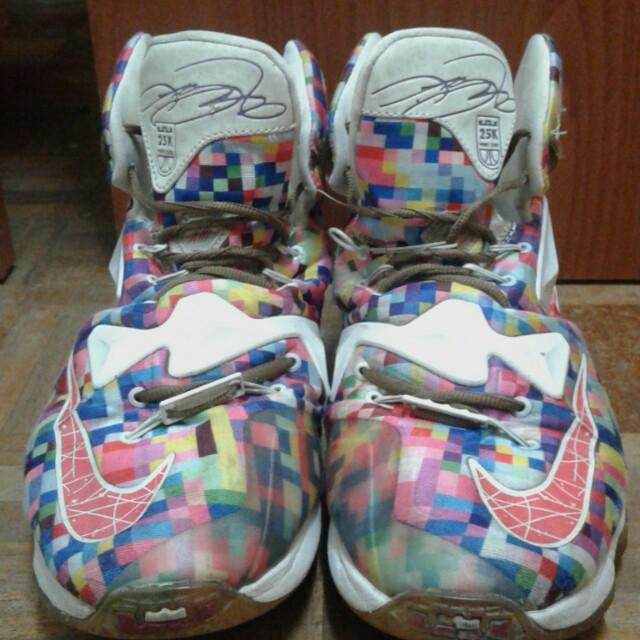 c26189a5e45 ... sale lebron 13 rainbow mens fashion footwear on carousell b3c86 ceb09