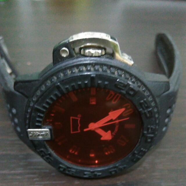 LEVIS Original Rubber Strap Watch