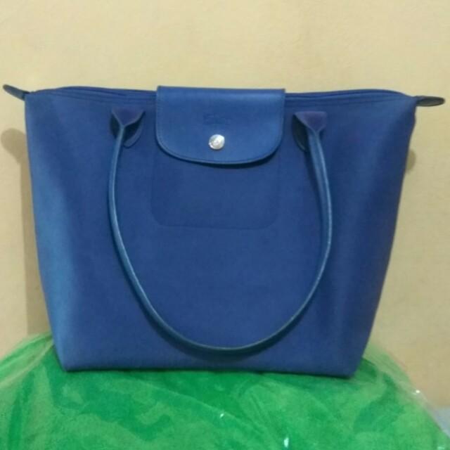 Longchamp Blue Bag