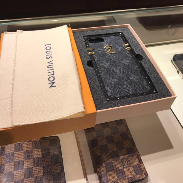 timeless design 94514 93cab Louis Vuitton LV Petite Malle Eye Trunk (Eclipse) iPhone 7/8 Plus ...