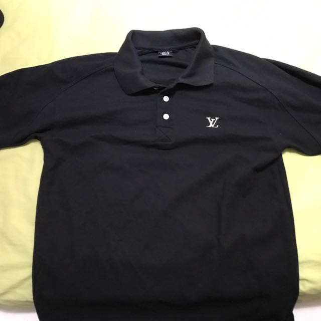 95a71039 Lv Louis Vuitton temp staff polo tee, size medium , text 82206293, Men's  Fashion, Clothes on Carousell