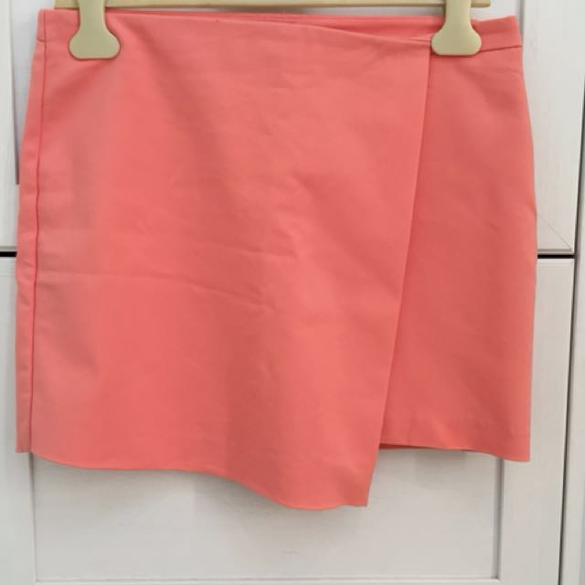 Mango Wrap Mini Skirt