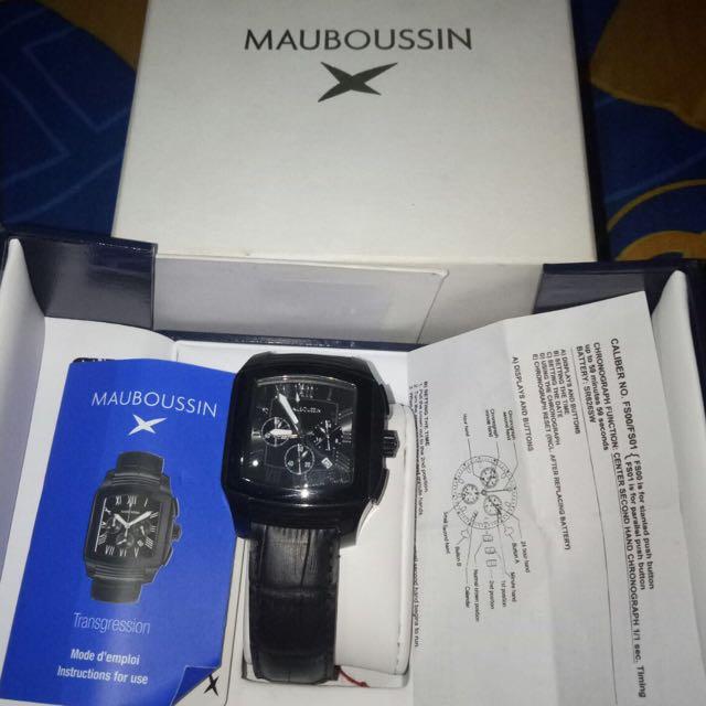 Mauboussin Man Transgression