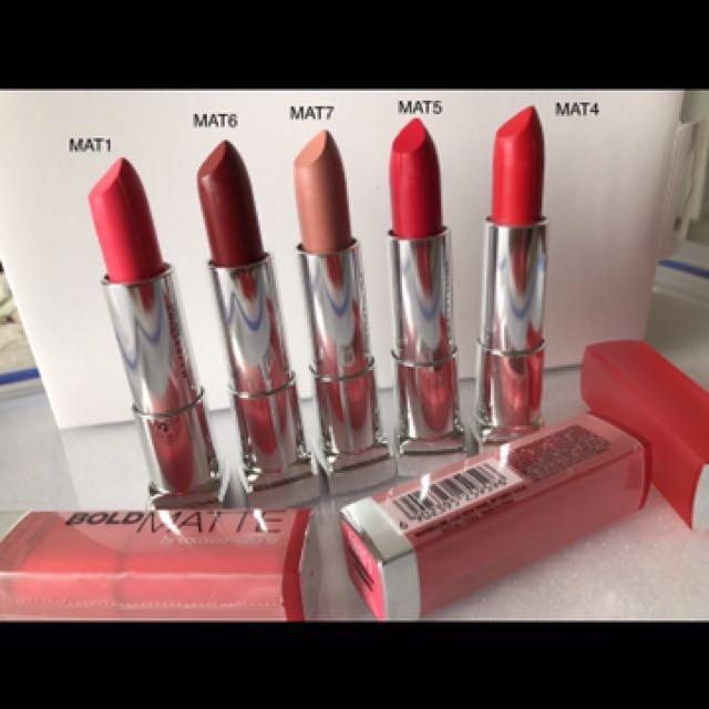 Maybelline Bold Matte ColorSensational Lipstick