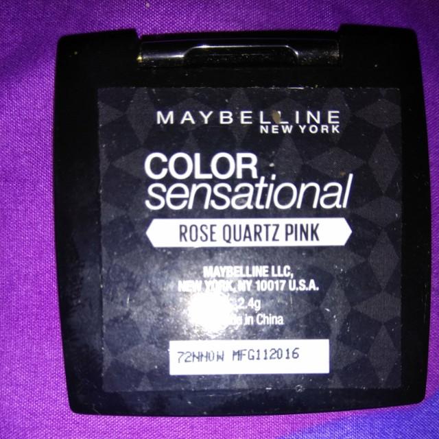 Maybelline color sensational eye shadow