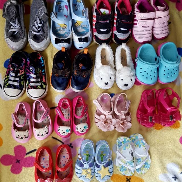 Mini Melissa Zaxy Nina Converse Adidas Gap H&M Crocd