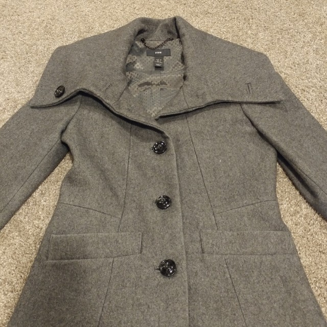 MINT CONDITION Wool Peacoat