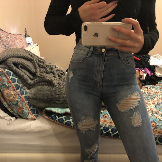 Misguided denim jeans