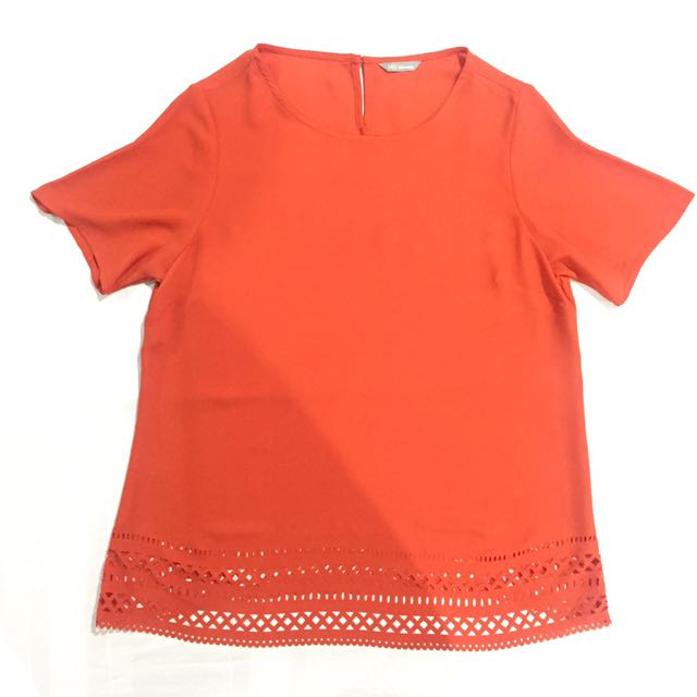 M&S Orange Blouse
