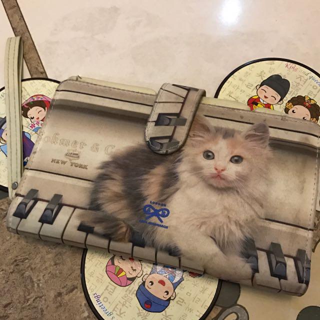 Multifungsi Dompet - Kucing ( Anya Hindmarch )