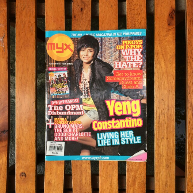 Myx Mag - Old Issue Double Cover