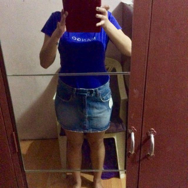 New Op Denim skirt