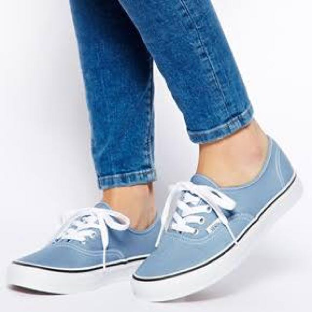 180bf44930 New Vans faded denim colour