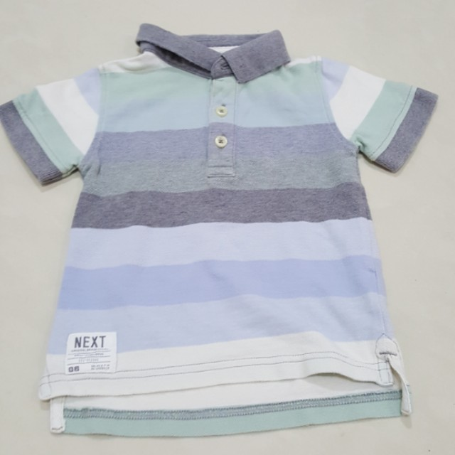 Next polo shirt stripes