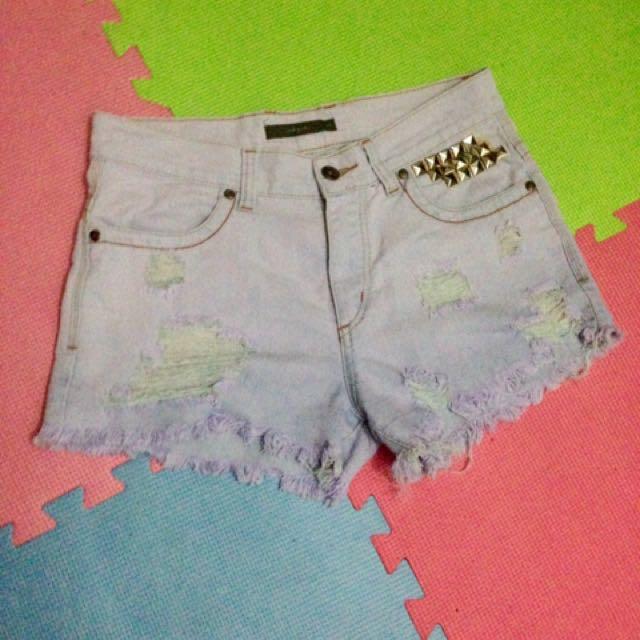 Nexus tattered shorts