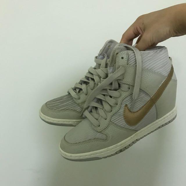 Nike dunk sky hi wedge sneakers