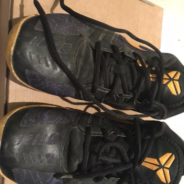 Nike shoes Kobe Bryan Authentic used