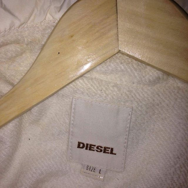 Old school diesel cream jacket