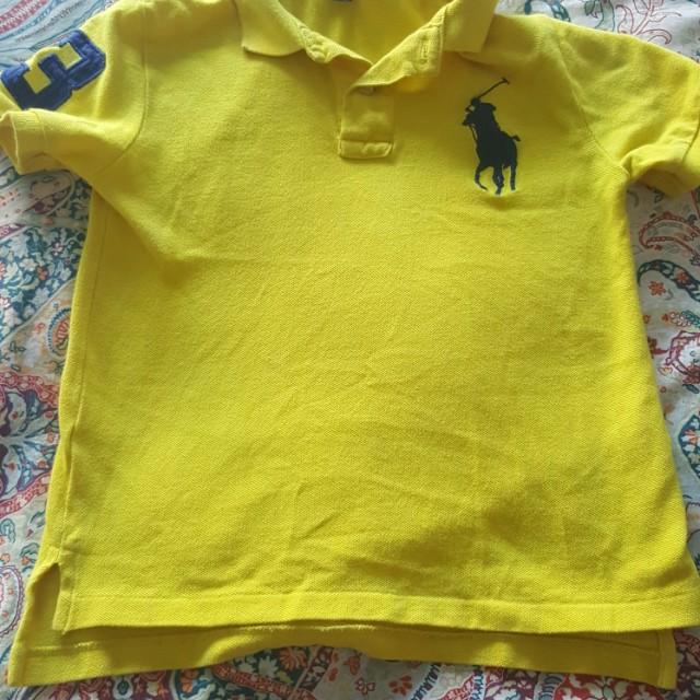 Original Ralph Lauren t-shirt for 4 to 6 year old boys