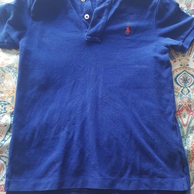 Original Ralph Lauren t-shirt for boys between 4 and 6 year old