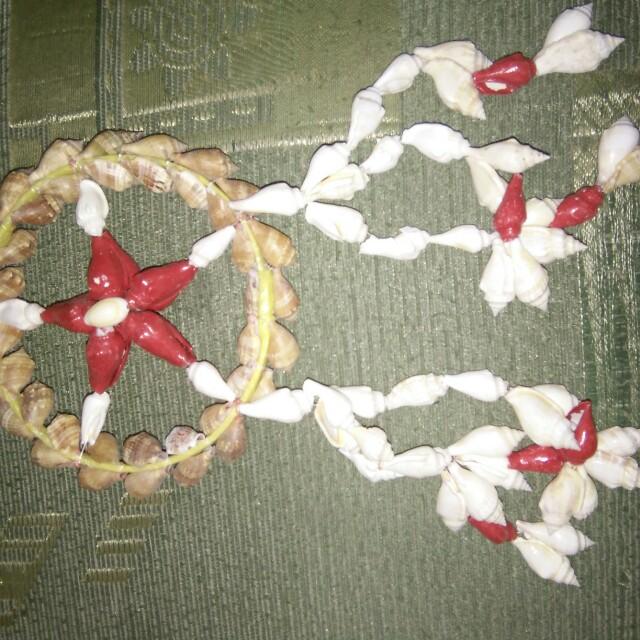 Parol made of shells