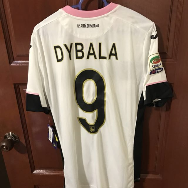 the latest 7133b 25a0f Paulo Dybala Palermo Jersey, Sports, Sports Apparel on Carousell