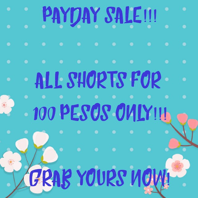 Payday sale!!!