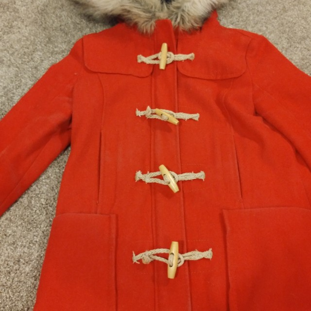Perfect Condition Wool Winter Coat