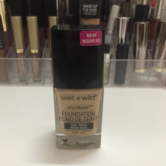 Preloved Wet n Wild Foundation