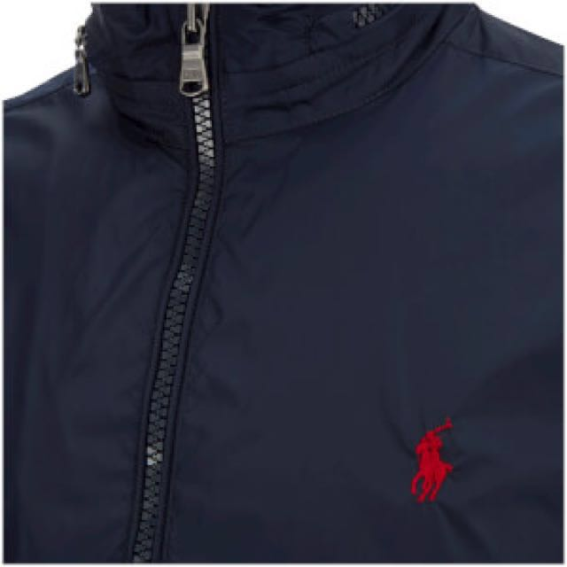 Ralph Lauren hooded rainjacket