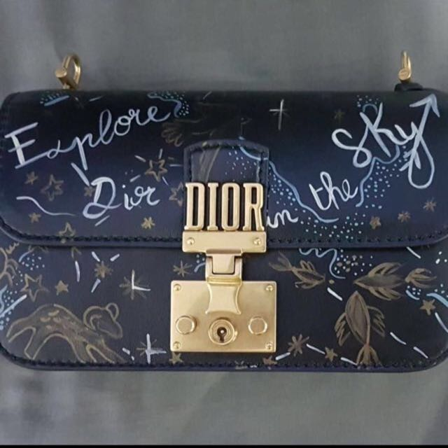 *Rare* Dior Addict Explore The Sky Hand-painted