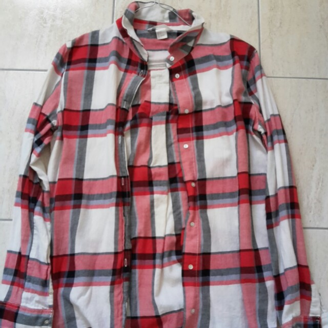 Red & white flannel