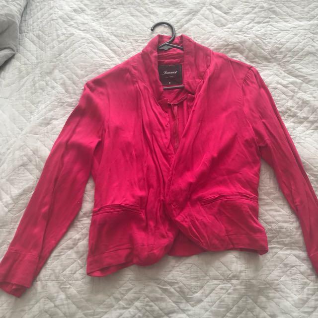 Red blazer - size 8