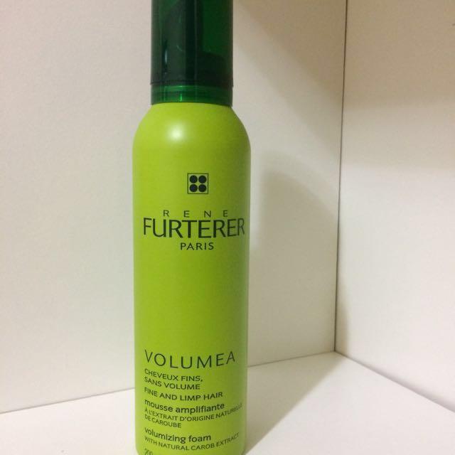 RENE FURTERER 萊法耶 VOLUMEA克拉豆豐鑽養護泡沫(免沖) 200ml