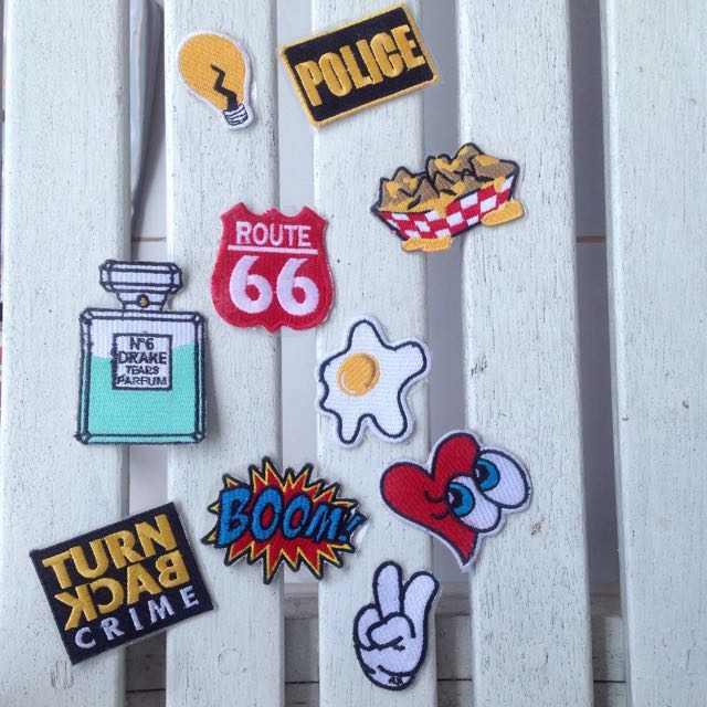 REPRICE Iron Patch Patches