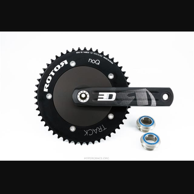 Rotor 3D24 Track Crank Set, Bicycles & PMDs, Bicycles on