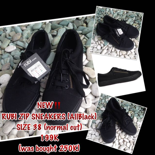 RUBI Zip Sneakers (Unisex)