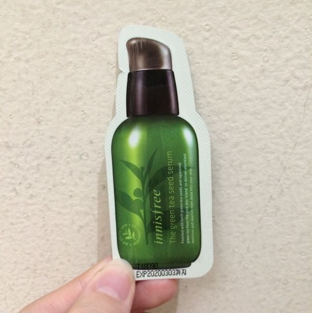 Sample Innisfree Green Tea Seed Serum