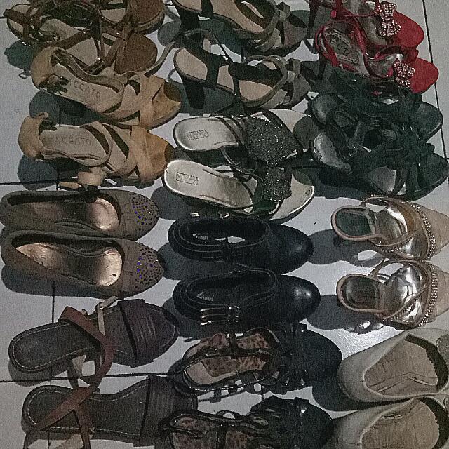 Sale Besar2an Shoes, 4 pasang 100rb