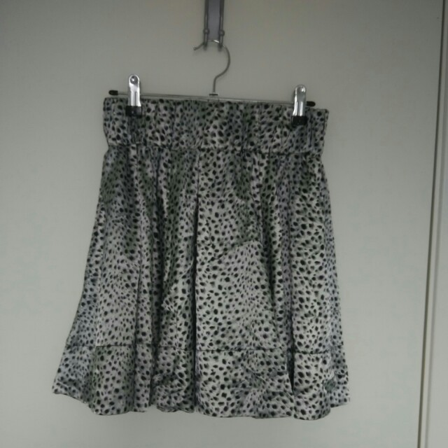 Silver and Black Skirt Size 10