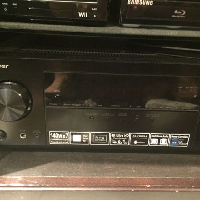 Surround sound 4 speakers and amp bose