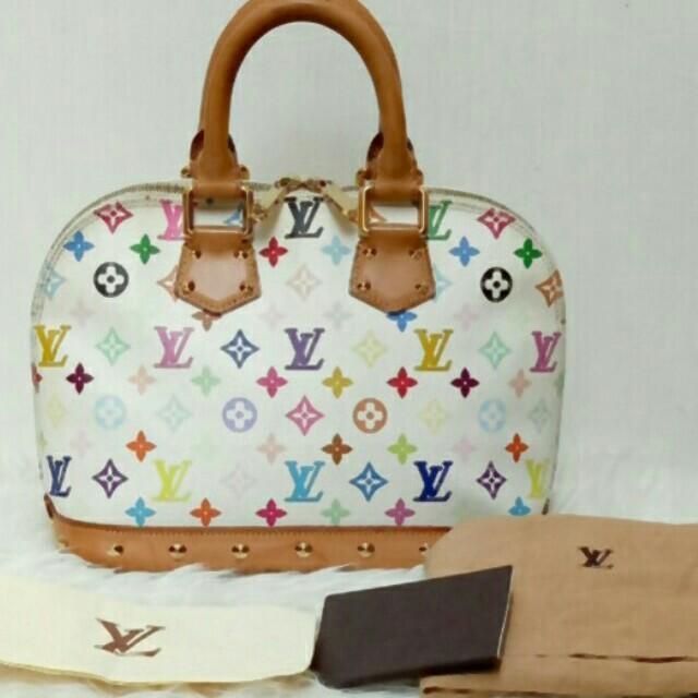 Tas Wanita Original Louis Vuitton Alma Bag LV Authentic Second Bekas  Preloved Branded 91e0f413d1